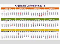 Calendario 2018 argentina Download 2019 Calendar