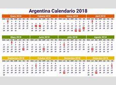 Calendario 2018 argentina Download 2019 Calendar