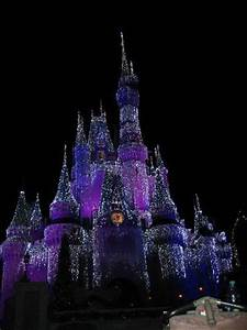 Cinderella's castle at night - Picture of Walt Disney ...