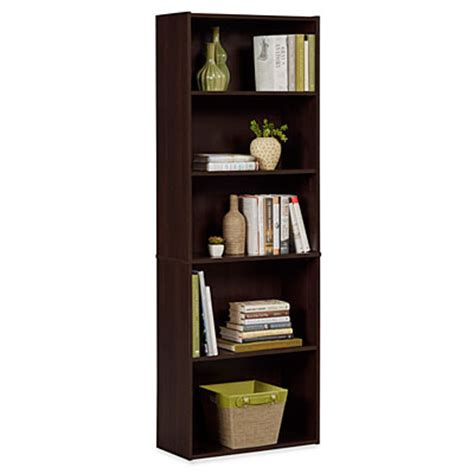 ameriwood dark russet  shelf bookcase big lots