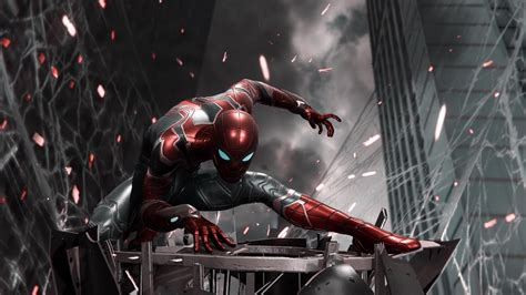 spiderman iron suit ps hd games  wallpapers images