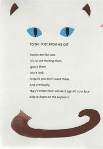 poems about cats to the poet from his cat homecoming