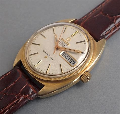 Omega Constellation Gents Vintage Automatic Calendar Watch