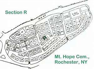 Section R  Mt  Hope Cem   Rochester  Ny