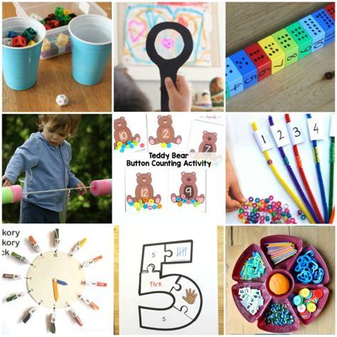 preschool math activities that are 648 | Preschool Math Activities Collage 3