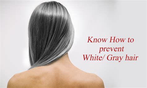 Hair Turning Naturally by Best Ways To Prevent White Gray Hair