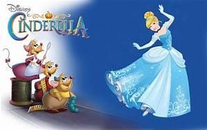 Char, Mice, And, Cinderella, Dance, Walt, Disney, Desktop