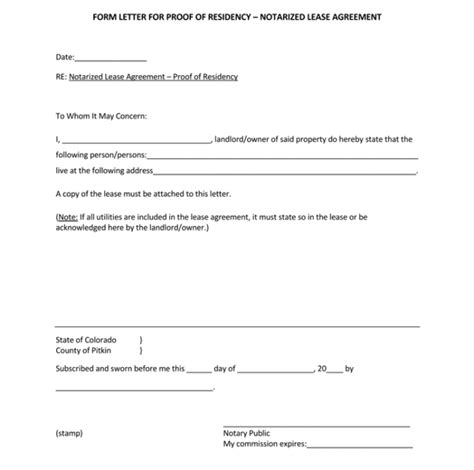 where to get a letter notarized 25 notarized letter templates sle letters in word 41861