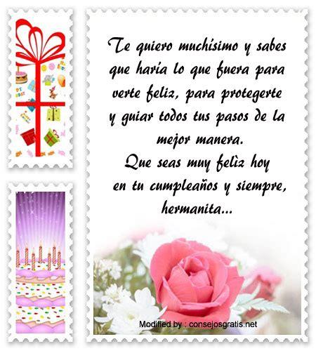 Mensajes De Cumpleaños Para Mi Hermana Saludos De