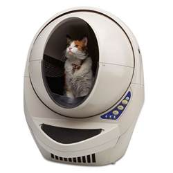 best litter box for cats the best automatic cat litter box hammacher schlemmer
