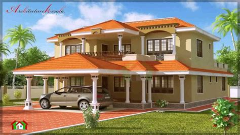 Kerala Style House Plans With Photos  Youtube