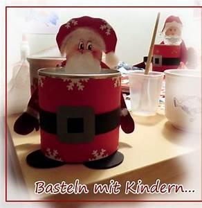 Basteln Mit Nüssen : kathrins blog basteln mit kindern weihnachtsmann ~ Markanthonyermac.com Haus und Dekorationen