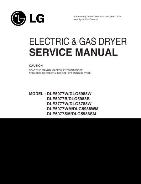 seche linge en anglais lg dle3777w manuel de service t 233 l 233 charger pdf s 232 che linge anglais