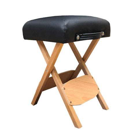Padded Wooden Bench by Handy Wooden Folding Bench Stool Padded With Thick