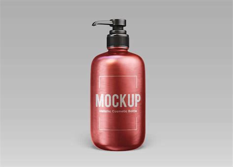 We have a rich list of different amazing bottle mockups for your design works. Free Metallic Cosmetic Bottle Mock-up In PSD » CSS Author
