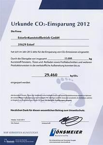 Co2 Einsparung Berechnen : leitbild estorfer kunststoffbetrieb gmbh ~ Themetempest.com Abrechnung