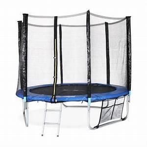 Prix D Un Trampoline : trampoline de jardin rond 250cm avec son filet chelle ~ Dailycaller-alerts.com Idées de Décoration