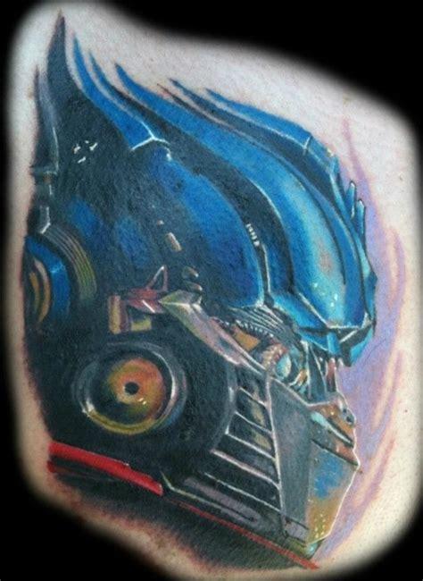 optimus prime head tattoojpg