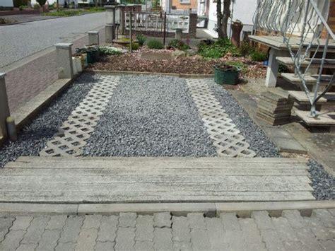 Vorgarten Mit Parkplatz Gestalten by Erneuerung Unserem Stellplatz Im Vorgarten Womo On