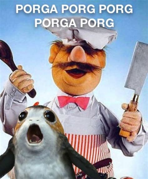 Porg Memes - discussion the porg thread was quot battle puffins quot and quot porg backlash quot page 55 jedi