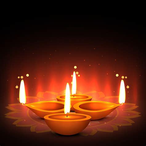 festical  light diwali greeting   vector