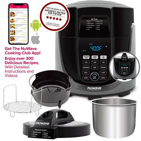 fryer air pressure combo cooker which