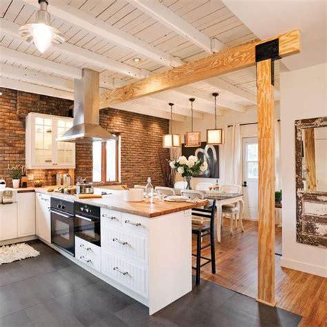 cuisine brique modele de cuisine en brique cuisine idées de