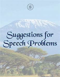 This Free Manual Is Written By A Speech