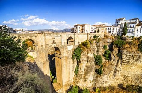 majestic bridges  andalucia  simply