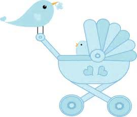 a new prince baby shower clipart baby bird stroller