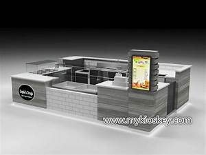 Customized Newest Mall Fried Yogurt Kiosk   Fried Yogurt