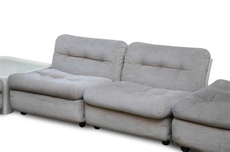Amanda Mario Bellini B&b C&b Poltrone Sectional Sofa Chair