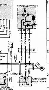 85 5 944 Rear Wiper Wiring