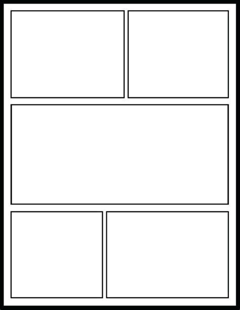 Comic Book Template Printable Comic Book Template Free Pertaining To