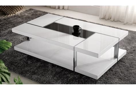 table basse table haute table basse design blanche homeandgarden
