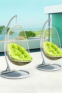 Fauteuil Jardin Suspendu : fauteuil de jardin suspendu en 55 id es de meubles design ~ Teatrodelosmanantiales.com Idées de Décoration