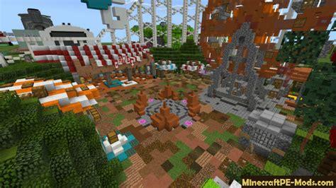 mini games world minecraft bedrock map