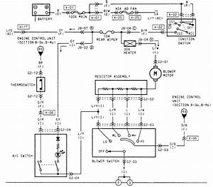 Blower Circuits Diagram On Mazda