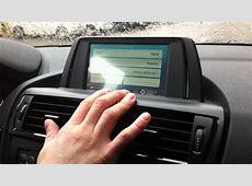 BMW 1 F20 Navigatore touch screen YouTube