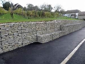 Mur De Soutenement En Gabion : gabions soutenement pre assembles cr 003 incitavert ~ Melissatoandfro.com Idées de Décoration