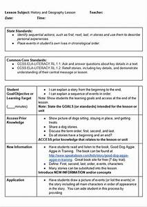 kindergarten siop lesson plans With new york state lesson plan template