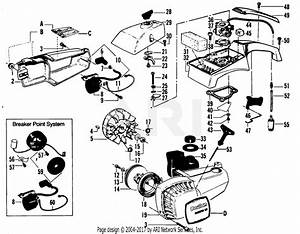 Poulan Micro Xxv Gas Saw Parts Diagram For Ignition