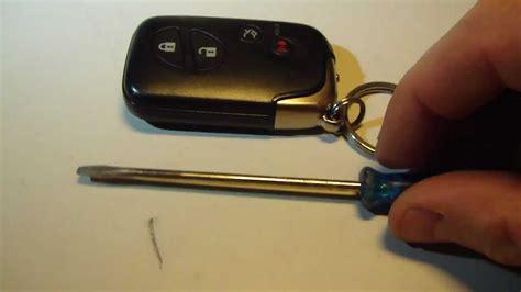 change smart key battery lexus  ls gs es hs