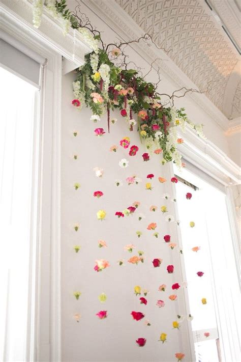 hanging flowers backdrops images  pinterest
