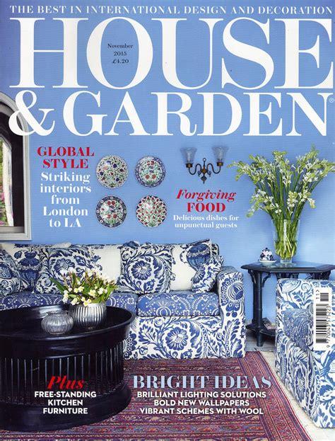 House And Garden Magazine by House Garden Magazine Press Coverage