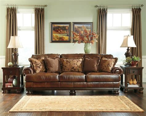 Best Leather For Sofa by New 21100 Traditional Genuine Top Grain Leather