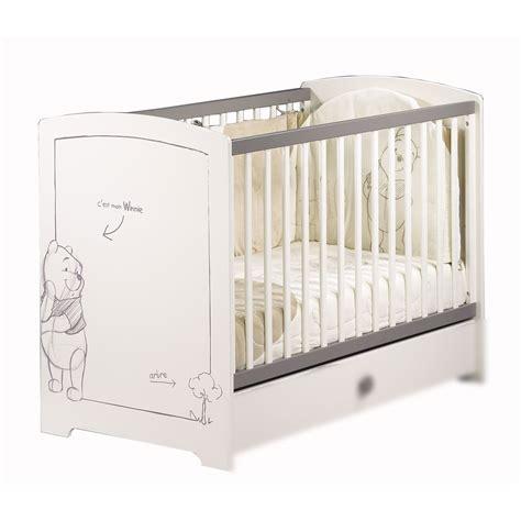 chambre winnie l ourson pas cher lit de bebe aubert