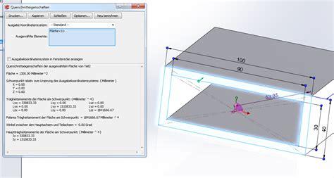 polares und torsions traegheitsmoment ptc engineering
