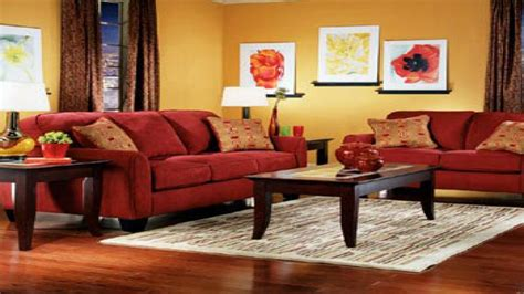 living room chair living room wall color  red