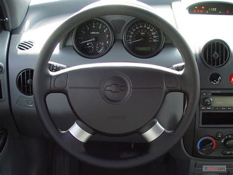 image  chevrolet aveo dr wagon ls steering wheel
